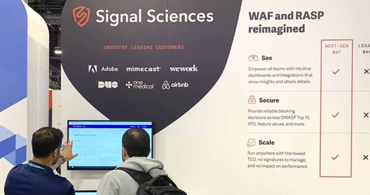 Connect With Signal Sciences On The Road