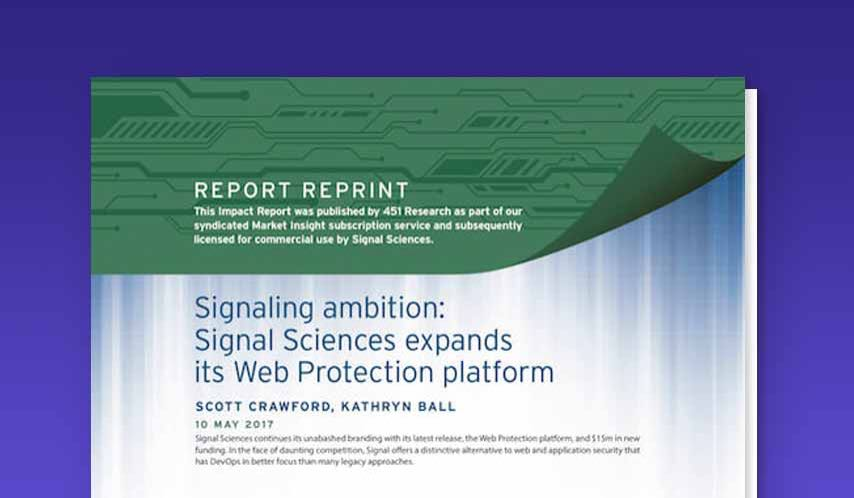 451 Research Report: The Web Protection Platform