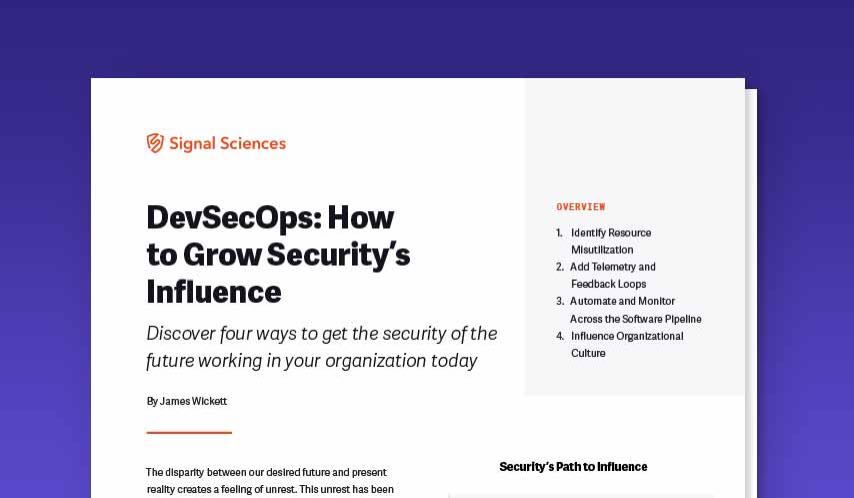 DevSecops: How to grow security influence