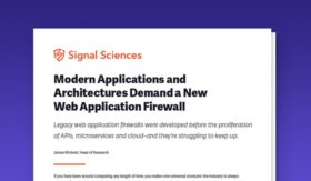 Demand More from Your WAF - Signal Sciences