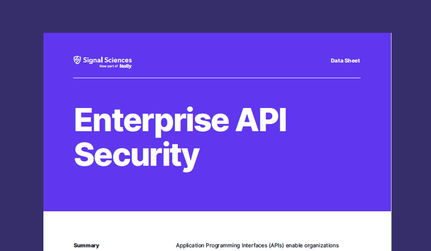 Enterprise API Security