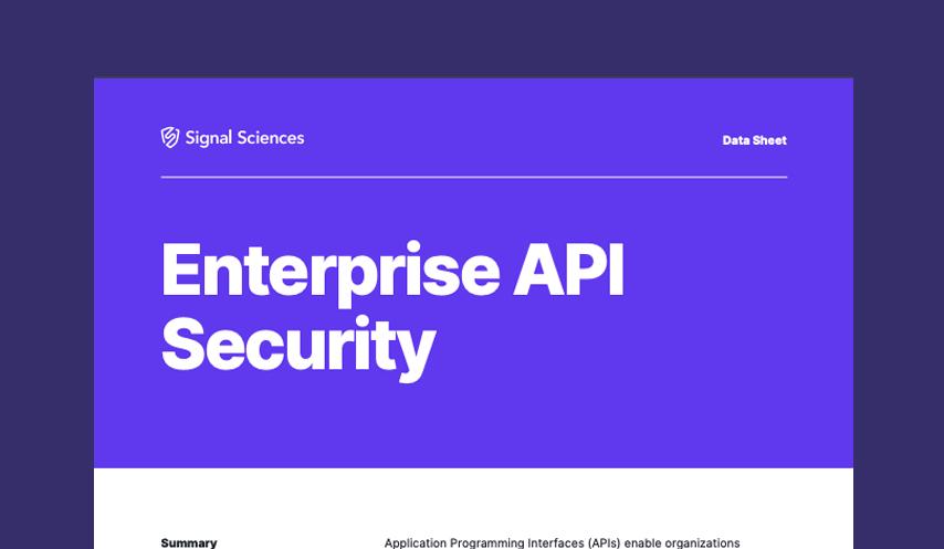 Enterprise API Security