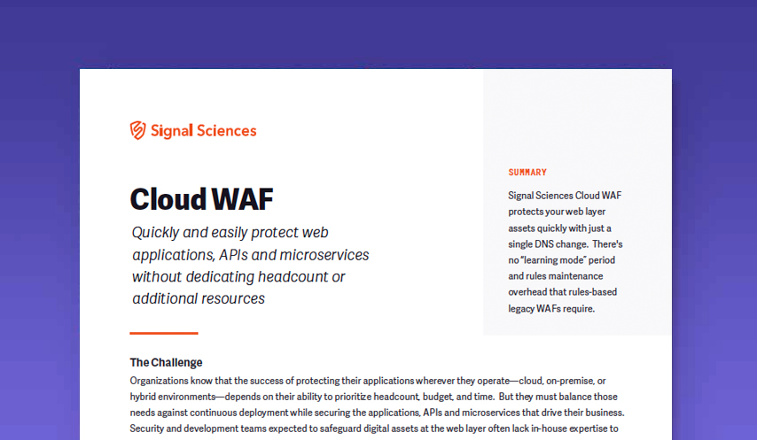 Cloud WAF