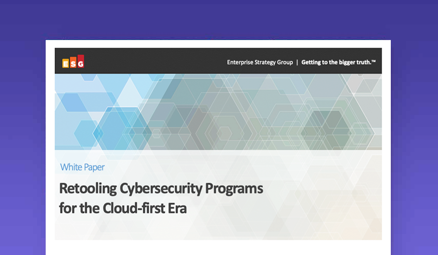 Retooling Cybersecurity Programs for the Cloud-first Era