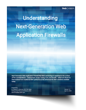 Analyst report: Understanding Next-Generation Web Application Firewalls