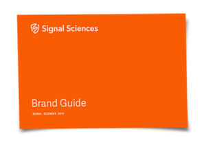 Signal Sciences Brand Guide