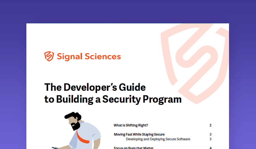 The Developer's Guide to Building a Security Program