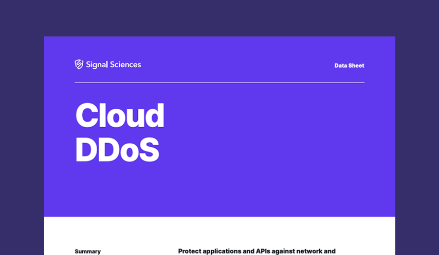Cloud DDoS