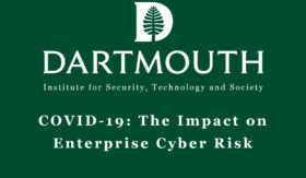 "Signal Sciences CSO Zane Lackey To Speak On Dartmouth's ISTS Virtual Panel On ""COVID-19's Impact On Enterprise Cyber Risk"""