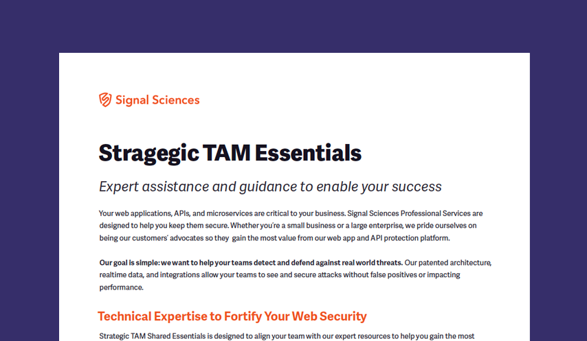Strategic TAM Essentials