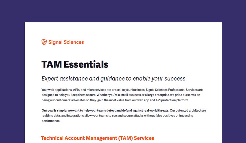 TAM Essentials