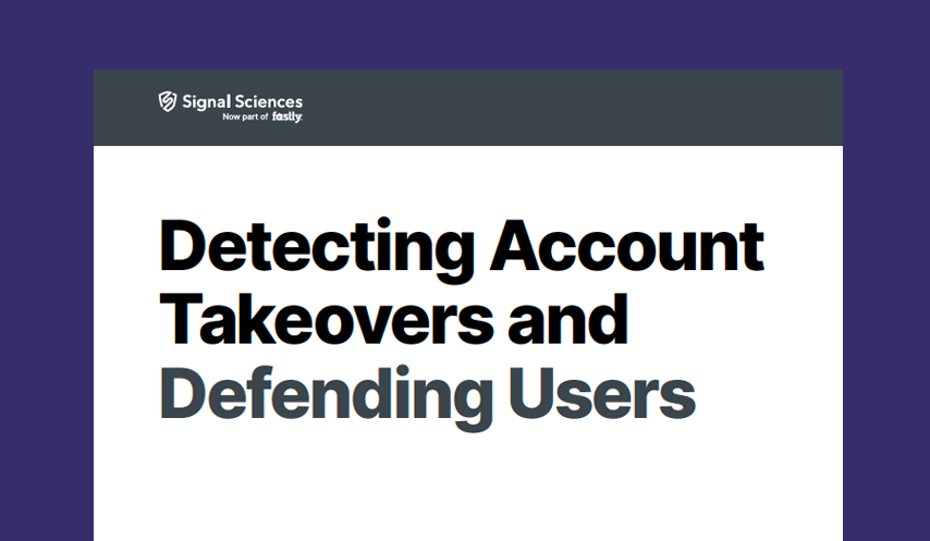 Detecting Account Takeovers and Defending Users