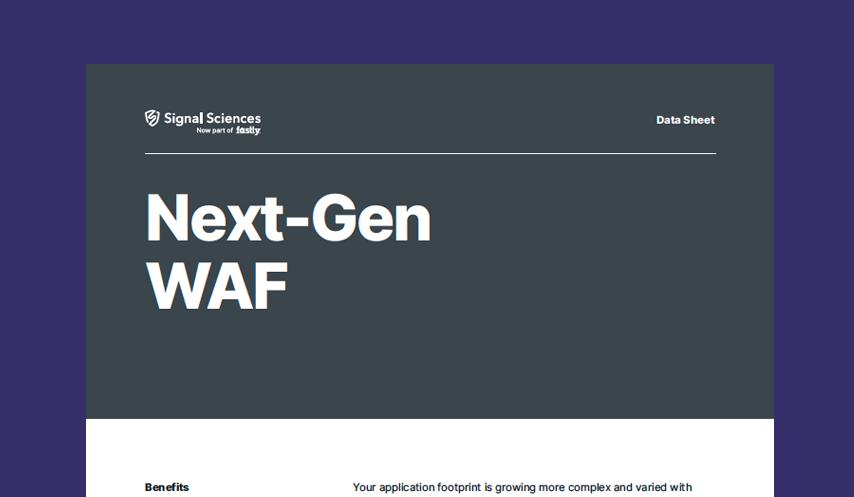 Next-Gen WAF