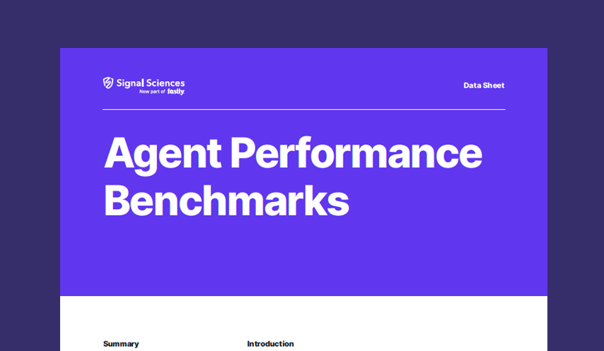 Agent Performance Benchmarks