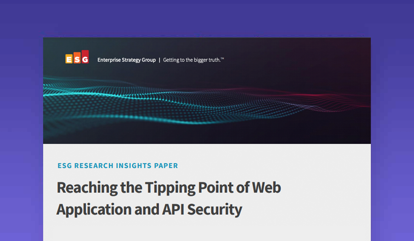 Reaching the Tipping Point of Web Application and API Security